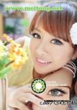 樱花三色(绿色)美瞳