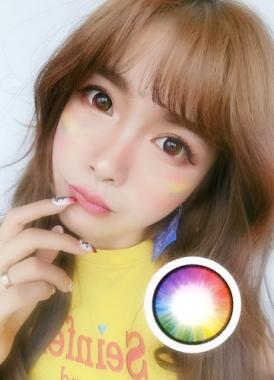 彩虹美瞳 玛丽苏美瞳